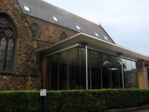 Woodland's Christian Centre, Clifton, Bristol - VM Zinc Pigmento Red