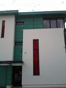 Sylvannia Apartments, Jersey - KME Pre Patinated Copper