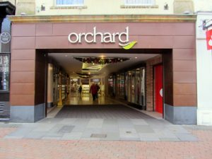 Orchard Shopping Centre, Taunton - KME Patinated Bronze