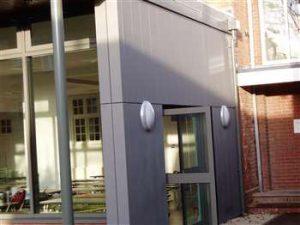School, Worcs - VM Quartz Reveal Panels