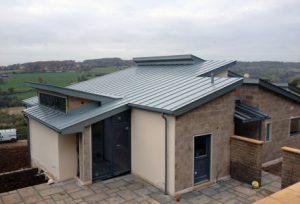 House in Stroud - Zinc